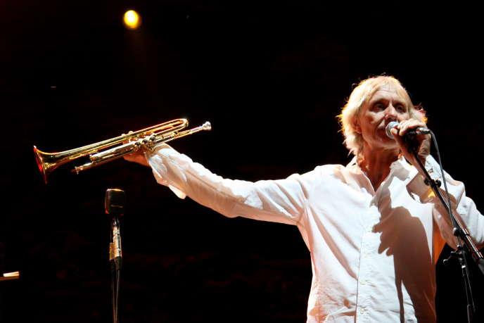 Eric Truffaz lundi 20 juillet, dans les jardins du Palais Longchamp, à Marseille.