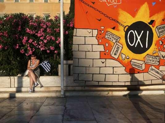 A Athènes, le 22juillet.