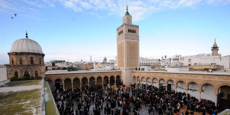 Une mosquée de Tunis, le 13 janvier 2014.