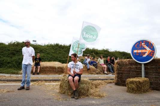 Le président de la FDSEA du Calvados, Jean-Yves Heurtin, a annoncé, mercredi 22 juillet dans l'après-midi, une « suspension » des blocages autour de Caen.