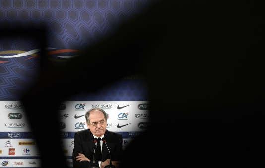 Noël Le Graët – ici le 22 juin 2014 au Brésil– soutiendra la candidature de Gianni Infantino à la présidence de la FIFA.