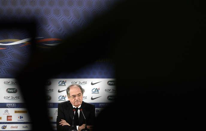 Le président de la Fédération française de football, Noël le Graët, en 2014.