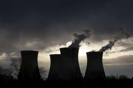 La centrale nucléaire du Bugey, près de Lyon, en avril 2015.