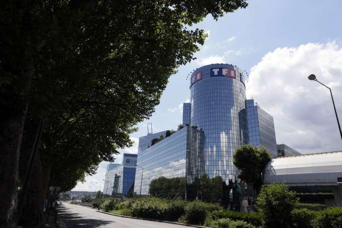 Le siège de TF1 à Boulogne-Billancourt.