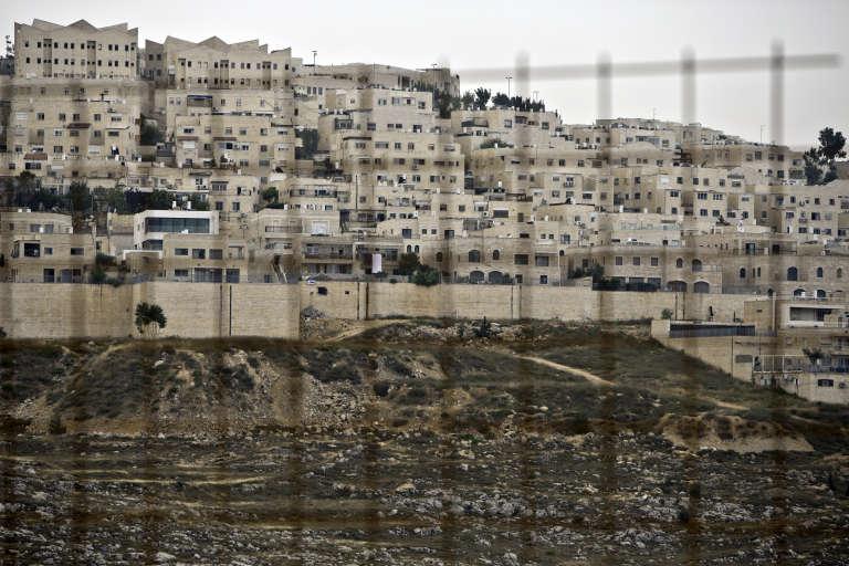 Le quartier de Ramat Shlomo, une colonie juive dans les territoires palestiniens, le 5 juin 2014.