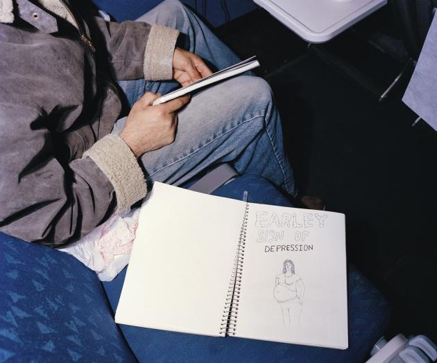 Un « cow-boy » de 17 ans se rend à ses deux prochains rodéos. Sur son cahier : « Signe avant-coureur de dépression. »