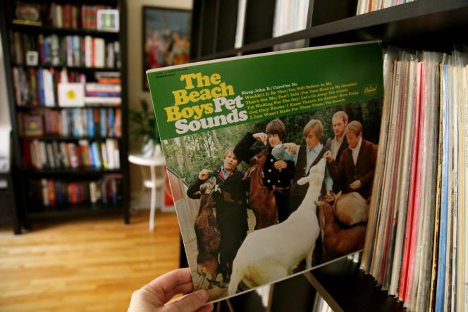 L'album « Pet Sounds» des Beach Boys, sorti en 1966, est leur onzième.