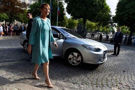Segolène Royal, à Paris, le 21 juillet.