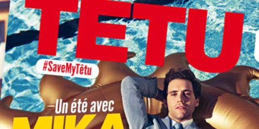 La dernière couverture du magazine «Têtu» (juillet-août 2015).