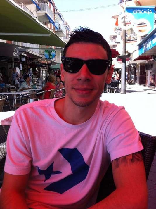 Matias Gallo, 29 ans, serveur à Benidorm (province d'Alicante)