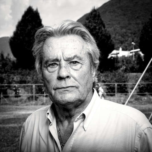 Alain Delon lors du festival international du film de Locarno en 2012.