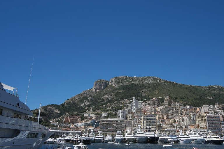 La baie de Monte Carlo, à Monaco.