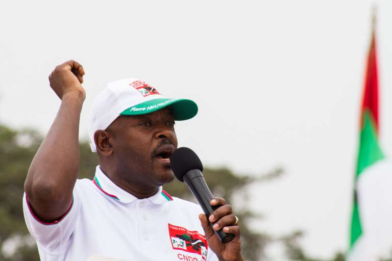 Le président du Burundi, Pierre Nkurunziza, le 26 juin 2015.