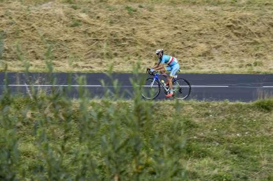 Vincenzo Nibali vendredi 24 juillet.