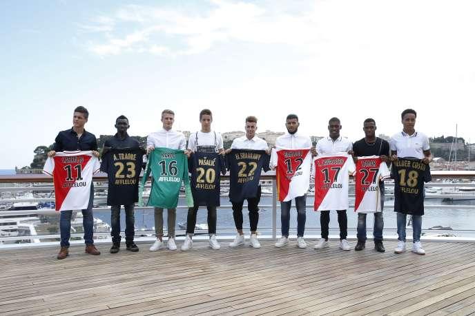 Monaco a recruté de nombreux jeunes joueurs pour tenter de se qualifier pour la Ligue des champions 2015-2016.
