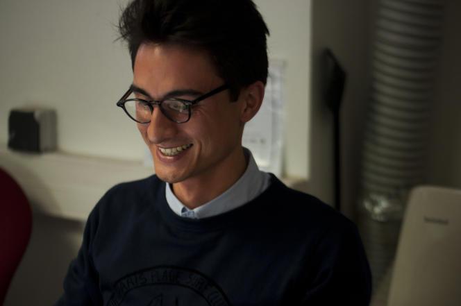 Christophe Philippe, fondateur de la start up