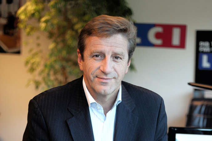 Eric Revel, directeur général de LCI de 2008 à 2015.