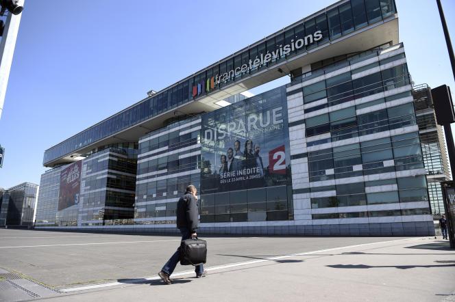 Le siège parisien du groupe France Télévisions.