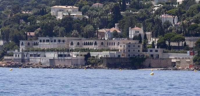 La villa de Golfe-Juan a été acquise par le roi Fahd en 1979.