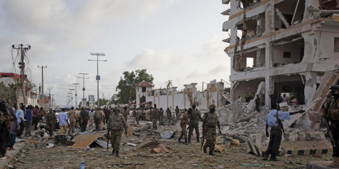 L'hôtel Jazeera, le 26 juillet à Mogadiscio.