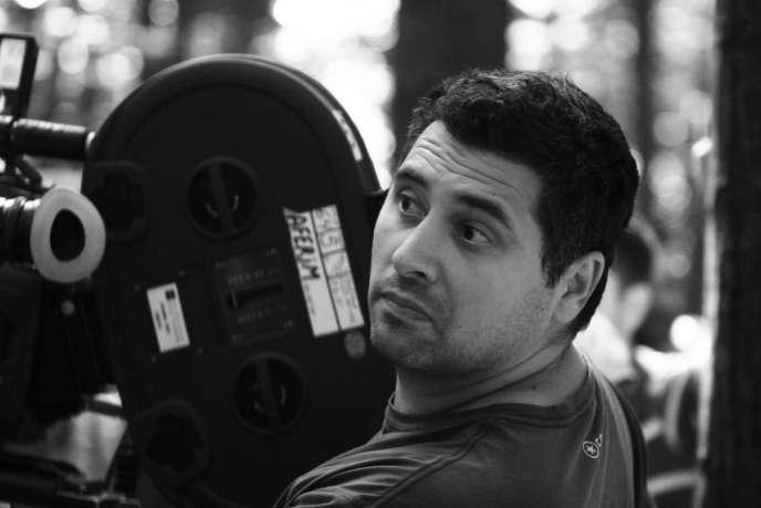 Le réalisateur roumain Radu Jude sur le tournage de son film