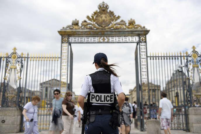 L'entrée du château de Versailles.