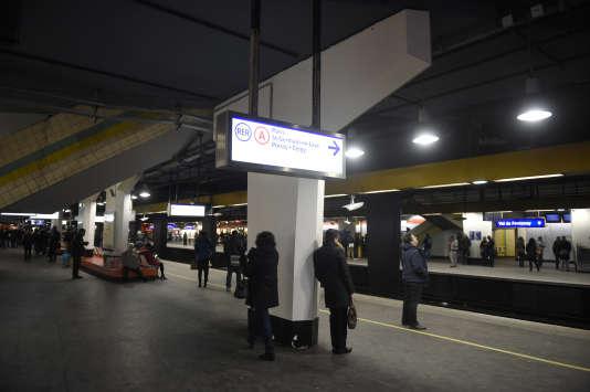 Station sur le RER A.