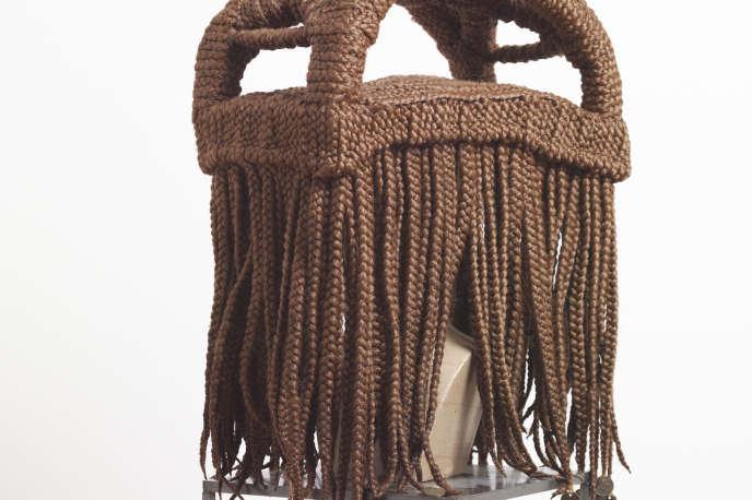 Perruque MAVA, Kwame N'Krumah, par Meschac Gaba.