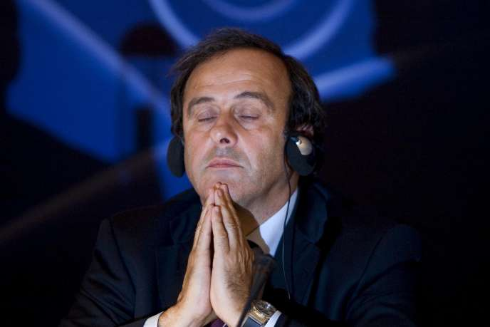 Michel Platini, en septembre 2008.