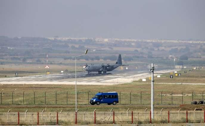 La base aérienne d'Incirlik, à douze kilomètres à l'est de la ville d'Adana, le 28 juillet.