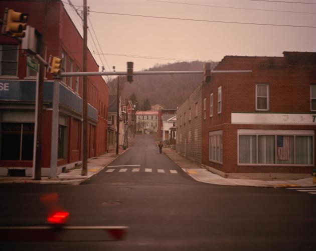 Une ville de mineurs en Virginie de l'Ouest, près de la frontière du Maryland.