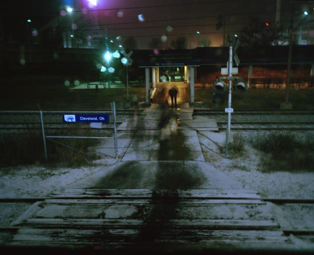 Cleveland, dans l'Ohio, est l'un des nombreux arrêts de nuit.