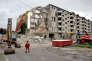 Un chantier de démolition à Lille en août 2012.