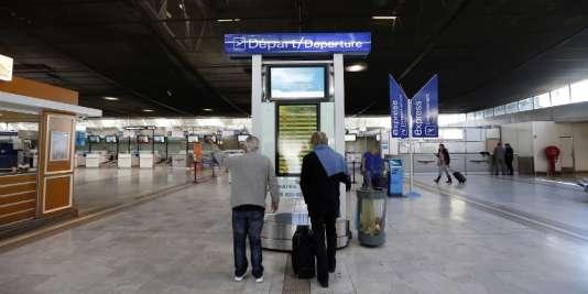 L'aéroport de Nice, le 9 avril.