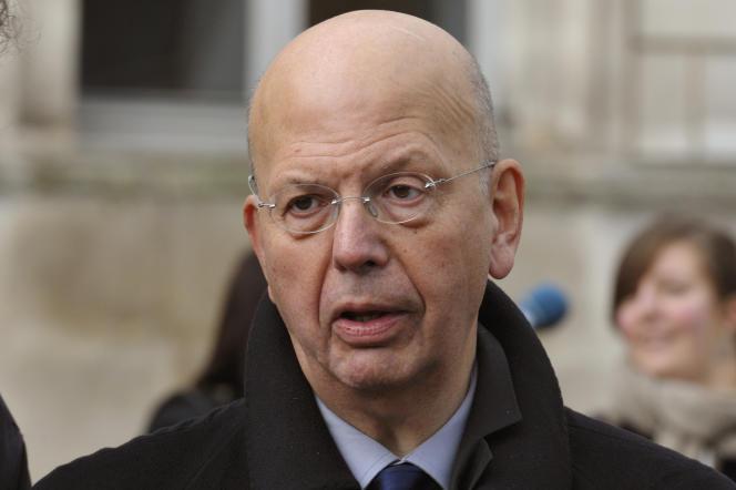 Patrick Buisson, à Vaucouleurs (Meuse), en 2012.