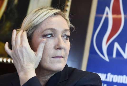 Marine Le Pen, présidente du FN, le 13 juillet.