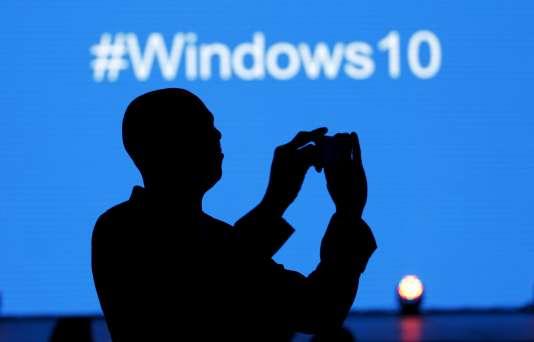 Présentation de Windows à Nairobi, au Kenya, le 29 juillet.