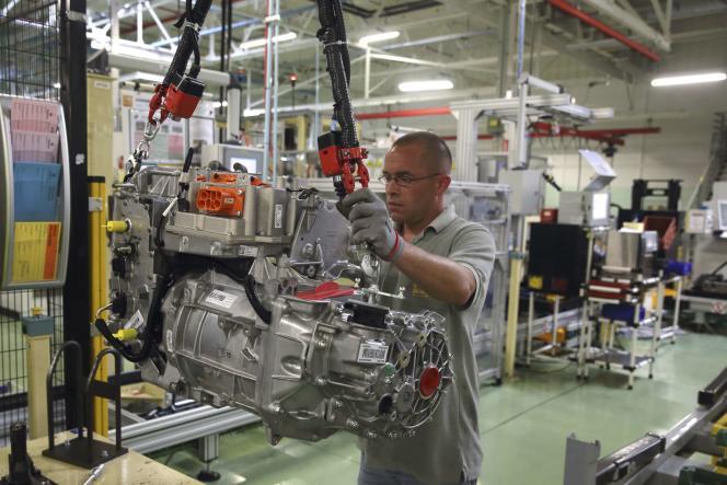 L'usine Renault de Cléon, en Seine-Maritime, construit les modèles Zoé de la marque. Ici en juillet 2015.