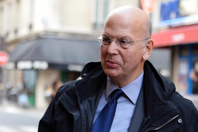 Patrick Buisson, ancien conseiller de Nicolas Sarkozy à l'Elysée, en octobre 2012.
