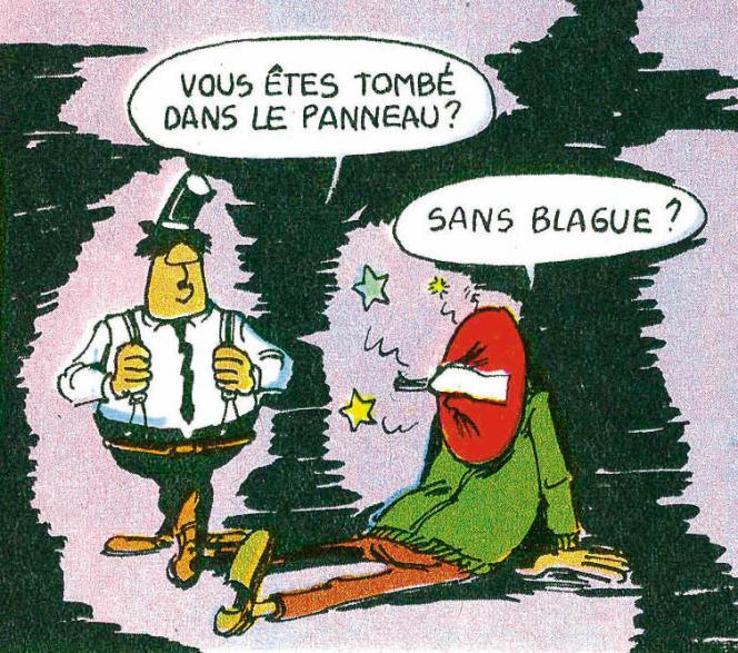 La première bande dessinée de Didier Conrad publiée, en 1974, dans le cadre d'un concours lancé par l'hebdomadaire «Spirou».