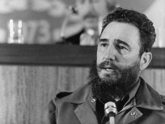 Fidel Castro en 1973.