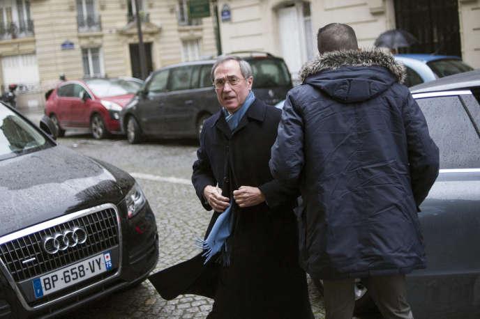 Claude Guéant, à Paris en janvier 2014.