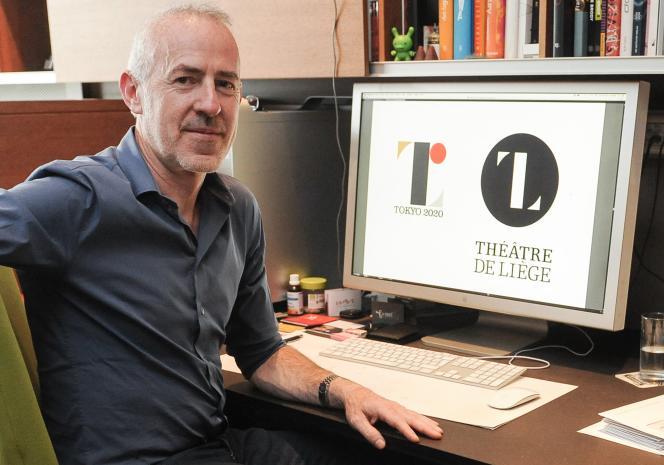 Le designer belge, Olivier Debie, accuse le créateur du logo des JO-2020 de Tokyo d'avoir plagié son logo du théâtre de Liège.