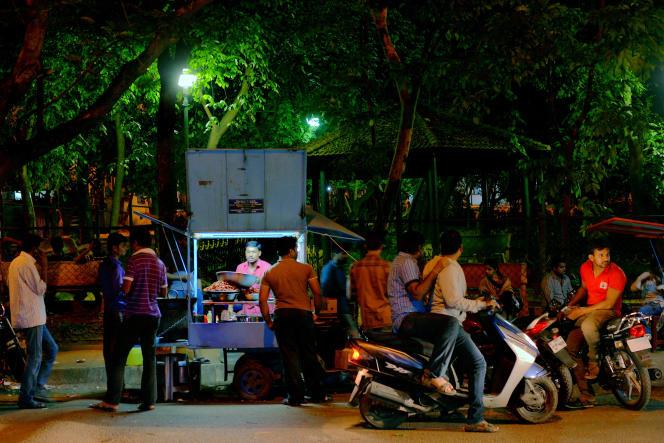 A Bangalore, le 1er juillet.