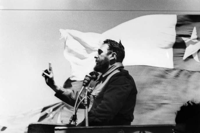 Fidel Castro, en 1971.