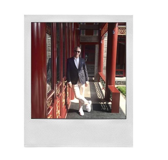 Tommy Hilfiger à Hôtel Waldorf Astoria, à Pékin en mai.