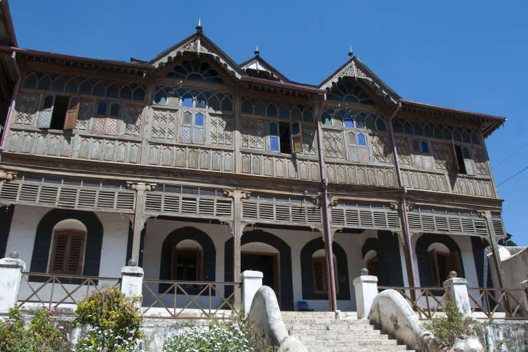"""La """"maison Rimbaud"""", un musée en la mémoire du poète, à Harar, ville de l'est éthiopien où il a vécu."""