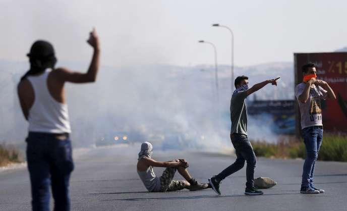 Des affrontements ont eu lieu vendredi 31 juillet entre l'armée israélienne et des Palestiniens en Cisjordanie.