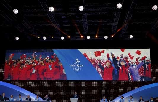 Les JO d'hiver 2022 auront lieu à Pékin.