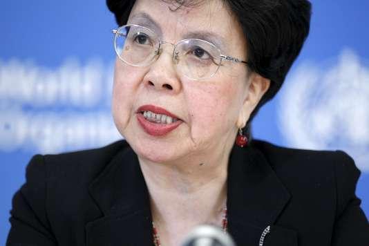 Margaret Chan, directrice générale de l'Organisation mondiale de la santé (OMS), le31juillet2015 à Genève, en Suisse.
